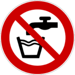 P005 Not drinking water