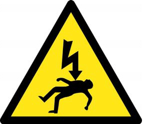Risk of electrocution