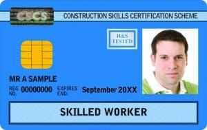 cscs blue card Skilled Worker