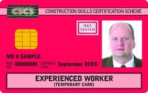 cscs red manager card