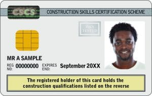 cscs white card Academically Qualified Person